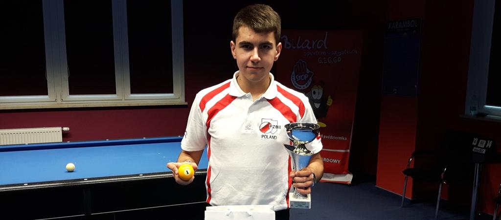 Dawid Tonojan zwycięża I turniej Grand Prix Polski