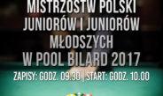 Eliminacje do Mistrzostw Polski Juniorów i Juniorów Młodszych w Pool Bilard